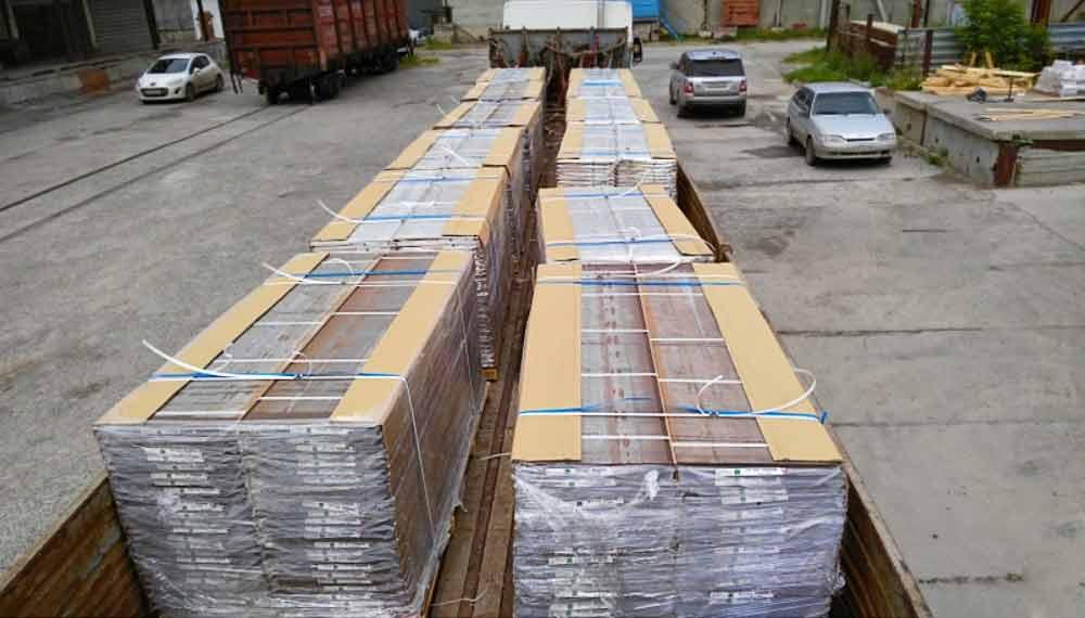 Доставка панелей из Японии транспортными компаниями
